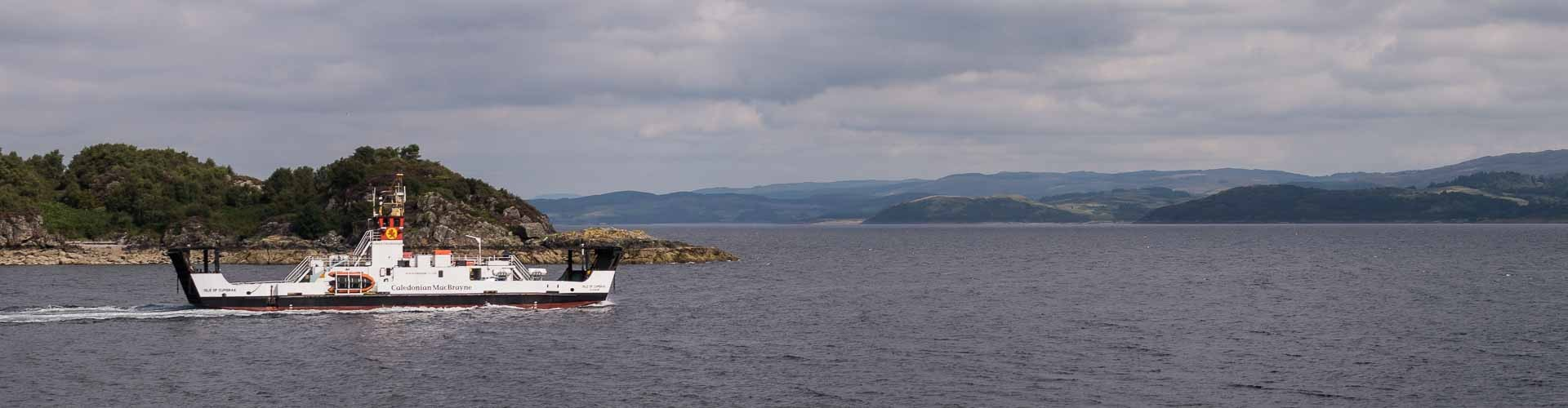 Isle of Cumbrae leaving Tarbert