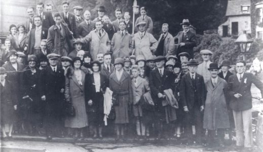 Changing fashions - an early 1930s CRSC excursion