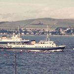 A Maid and a Car Ferry off Gourock - Margaret Skee (Margaret Skee)