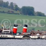 """Waverley on """"trials"""" mouth of Loch Long (Charles McCrossan)"""