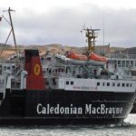Lord of the Isles approaches Colonsay (Roy Paterson)