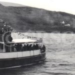 The Second Snark with Waverley in Loch Riddon - 21st May 1972 (Andrew Clark)