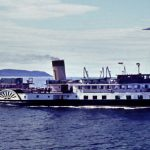 Talisman leaving Largs 1960s - Tom Dunlop