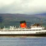 Queen Mary II at Brodick 1976 - Tom Dunlop