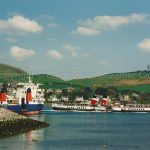 Claymore and Waverley at Campbeltown (Jim McIntosh)