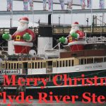 Former Manly Ferry SS South Steyne dressed for Christmas in Darling Harbour Sydney - built at Leith (Charles McCrossan)