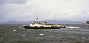 Maid of Argyll off Largs 1969