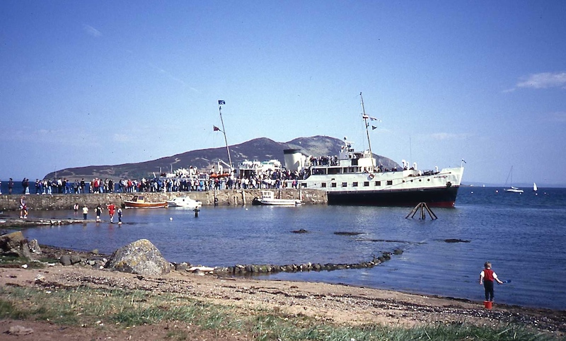 CRSC charter to Lamlash on 14 May 1994 -- copyright photo CRSC Tom Hamilton Collection