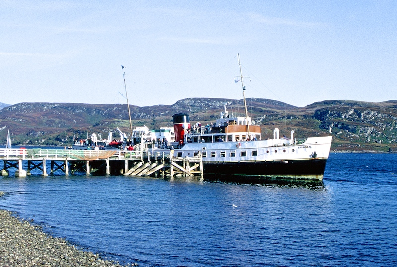At Tighnabruaich on 24 September 2001 -- copyright photo CRSC Dr Joe McKendrick Collection