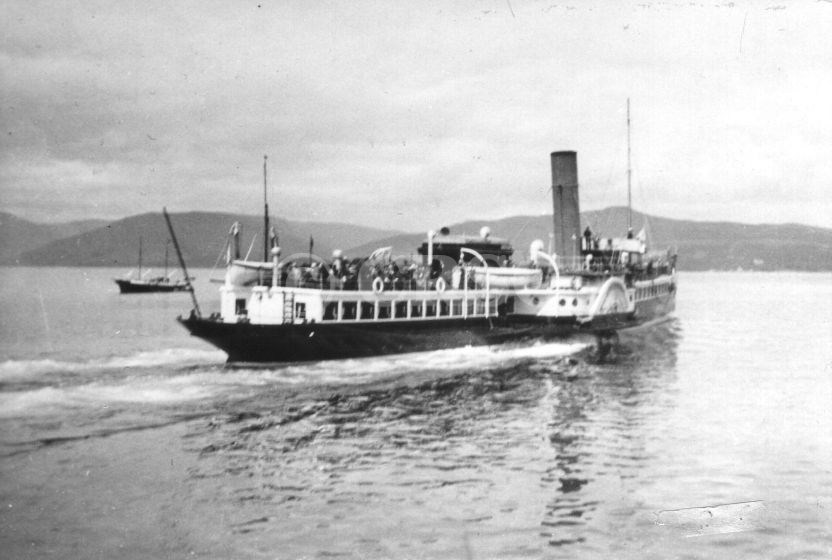 Duchess of Fife leaving Rothesay June 1921 (Alasdair Young)