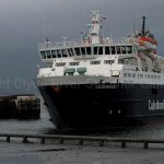 Caledonian Isles coming into Troon Harbour (Linda Raynor)