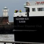Caledonian Isles in Troon harbour (Linda Raynor)