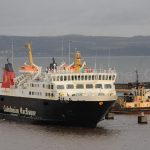 Isle of Lewis arriving at Leith (Gordon Stirling)