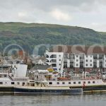 The Second Snark alongside Balmoral at Largs (Charles McCrossan)