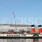 Waverley canting at Clydebank (Charles McCrossan)