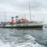 ps Waverley at Staffa (John Crae)
