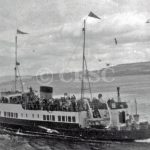 Maid of Argyll leaving Dunoon !955 (Alasdair Young)
