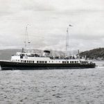 Maid of Argyll leaving leaving Largs (Alasdair Young)