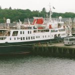 Hebridean Princess at Stornoway (Jim McIntosh)