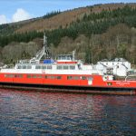 Sound of Scalpay lying at Kilmun Pier (Roy Paterson)