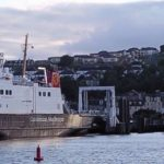 2 ferries at end of their shift (Kenny Donaldson)
