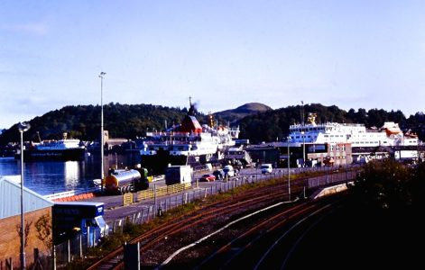 LOTI joins Isle of Mull and Clansman at Oban