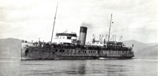 Marchioness of Graham in Rothesay Bay 1945