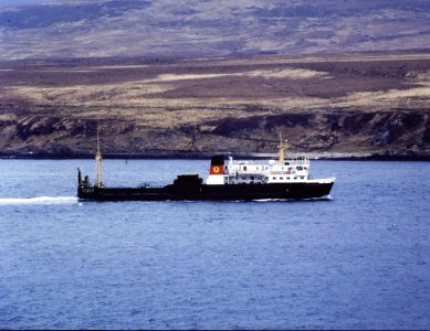 It was calm! Pioneer in the Sound of Islay