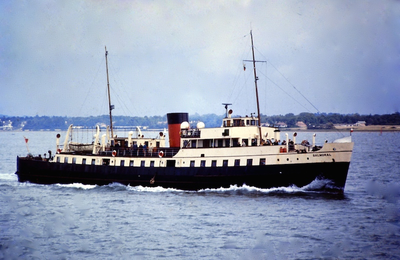 Balmoral in Red Funnel days