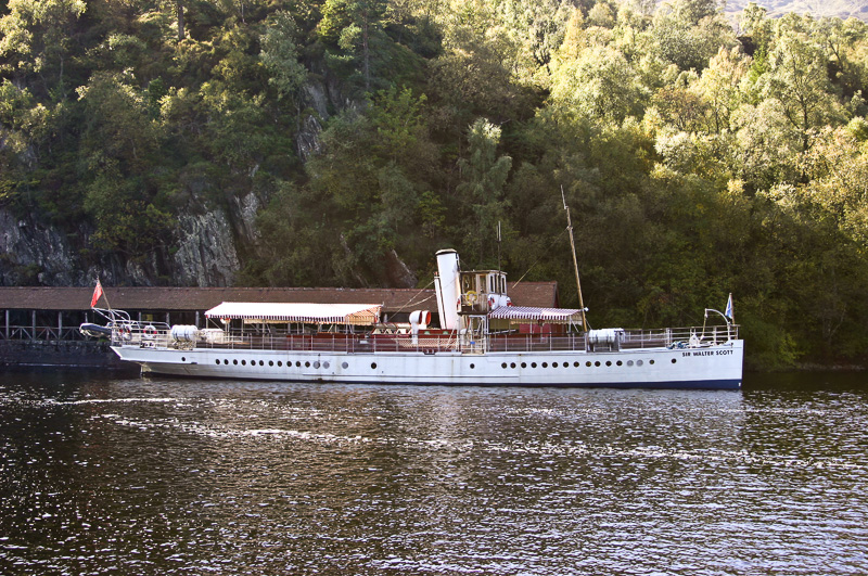 Sir Walter Scott before the addition of a deck cabin in 2007-8