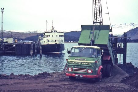 Bute at Brodick Pier